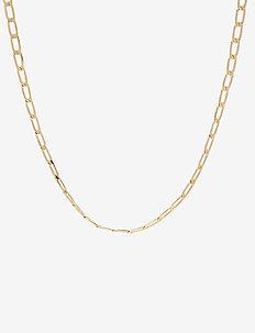 PCFIBE BASIC NECKLACE D2D - kettingen met hanger - gold colour