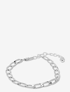 PCFIBE BASIC BRACELET D2D - dainty - silver colour