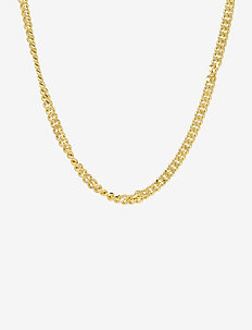 PCNIBE BASIC NECKLACE D2D PLATED - statement-halskjeder - gold colour
