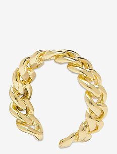 PCNIBE BASIC RING D2D PLATED - rings - gold colour