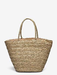 PCLIOLA BAG SWW - bucket-laukut - nature