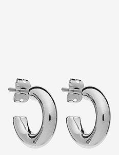 PCONO HOOP EARRING BOX D2D - hopen - silver colour