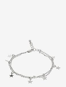 PCNUKKI BRACELET D2D - dainty - silver colour