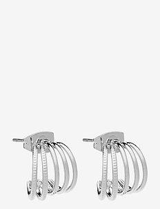 PCNOLDA HOOP EARRING BOX D2D PB - hopen - silver colour