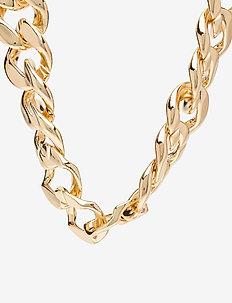 PCJOLO CHUNKY NECKLACE D2D - dainty - gold colour