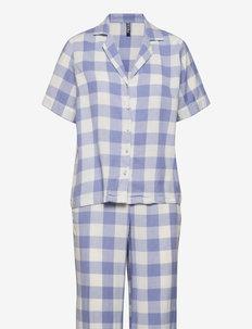 PCAMALIE NIGHT SET KAC - pyjamas - pale iris