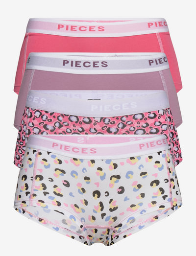 PCLOGO LADY LEO 4-PACK BC - hipster & hotpants - valerian