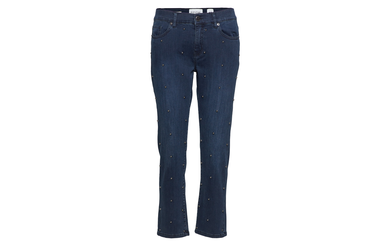 Kanas Pieszak Elastane Blue 5 Nora Coton 88 5 Regular Wash Polyester 8 Denim 3 AHHSqgw