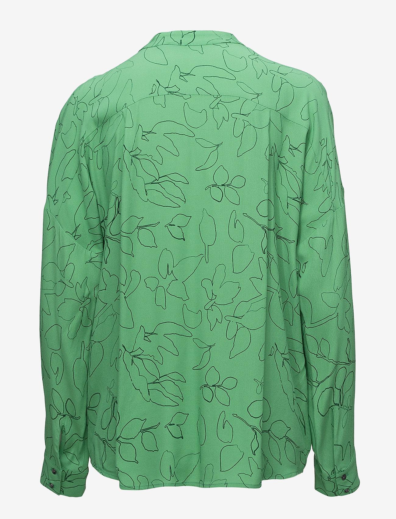 Pieszak - Safira wing shirt - blouses à manches longues - grass green