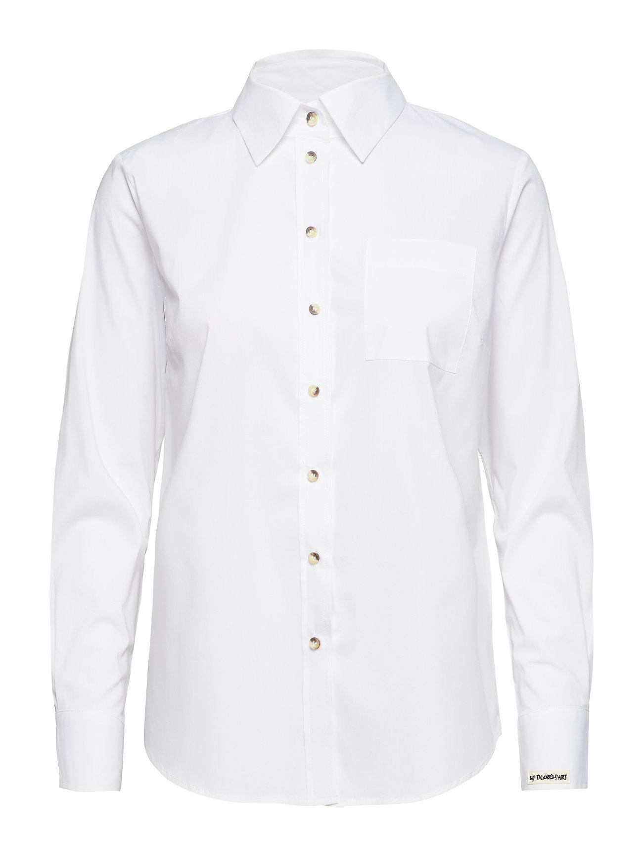 Pieszak Talisha LS shirt - OPTICAL WHITE
