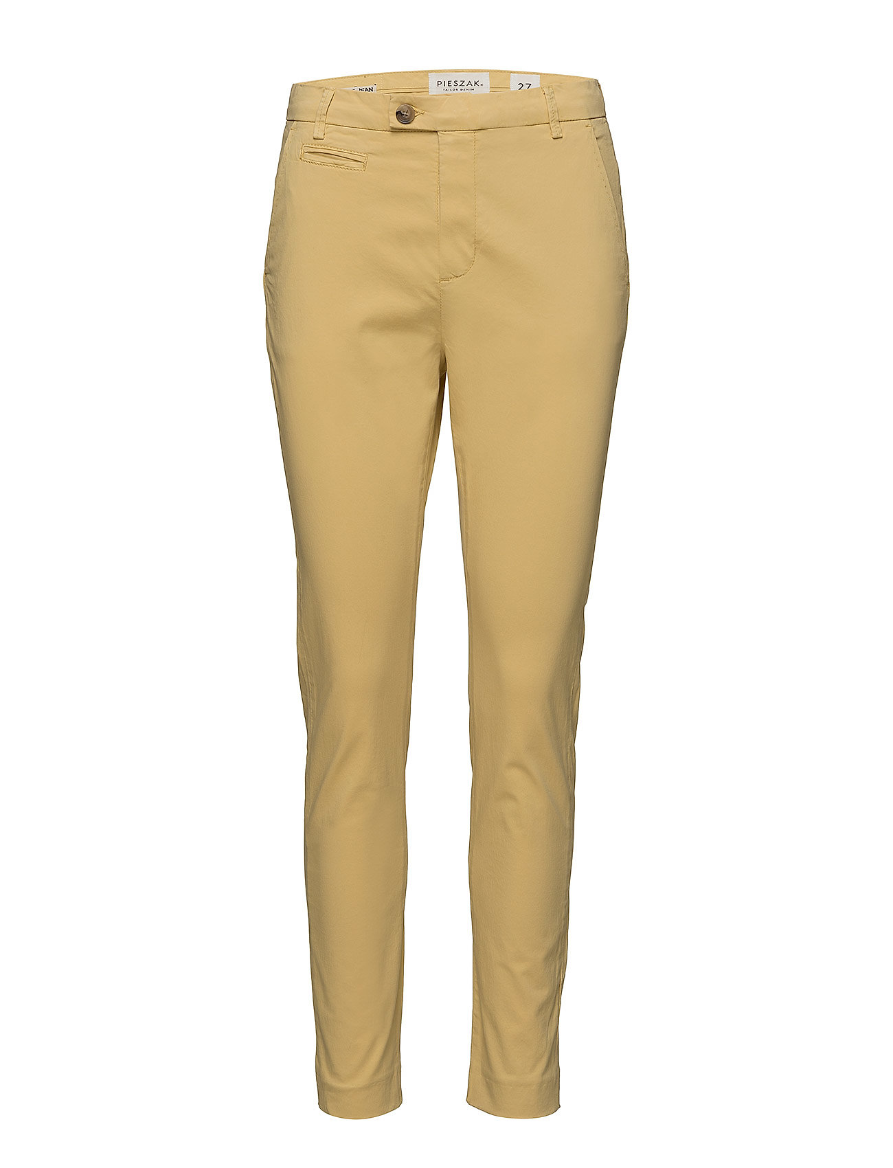 Pieszak Anika chino colour - PALE YELLOW