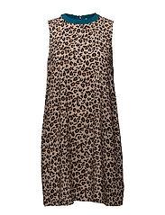 Amira silk dress - BEIGE