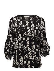 Irene blouse - BLACK
