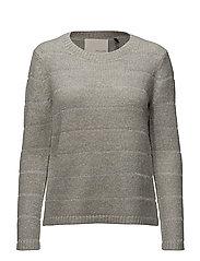 Alina o-neck knit - GREY