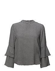 Tira blouse - BLACK
