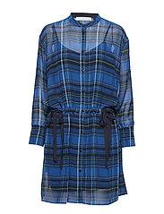 Hannah kimono dress - SHARP BLUE
