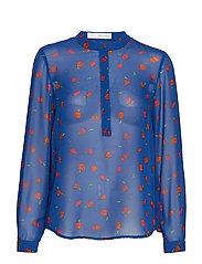 Ghita placket shirt - ULTRA NAVY