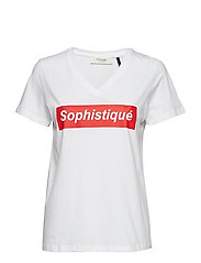 Sophistique SS tee - FLASH RED