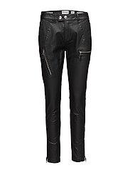 New Jo biker real black coated - BLACK