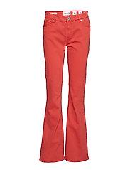 Marija flare color - FLASH RED