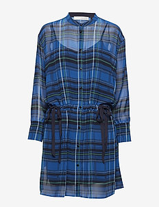 Hannah kimono dress - SHARP BLUE