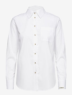 Talisha LS shirt - OPTICAL WHITE