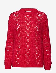 Pam knit - STRONG RED
