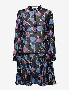 Gillian volumn dress - PRINT