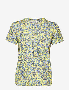 Louisa tee - PALE YELLOW