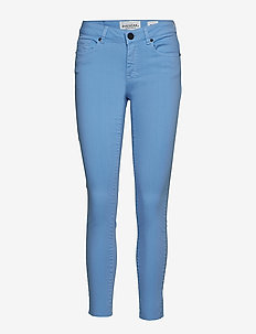 Diva cropped colours - DUSTY LIGHT BLUE