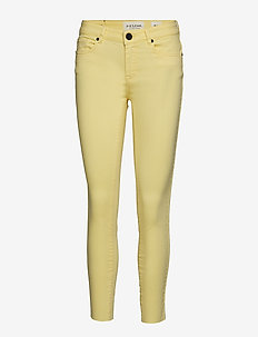 Diva cropped colours - PALE YELLOW