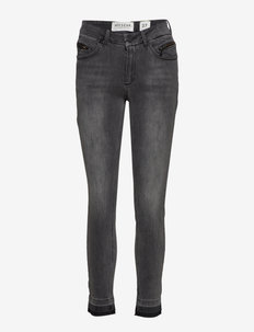 Naomi cropped Georgetown black - DENIM BLUE