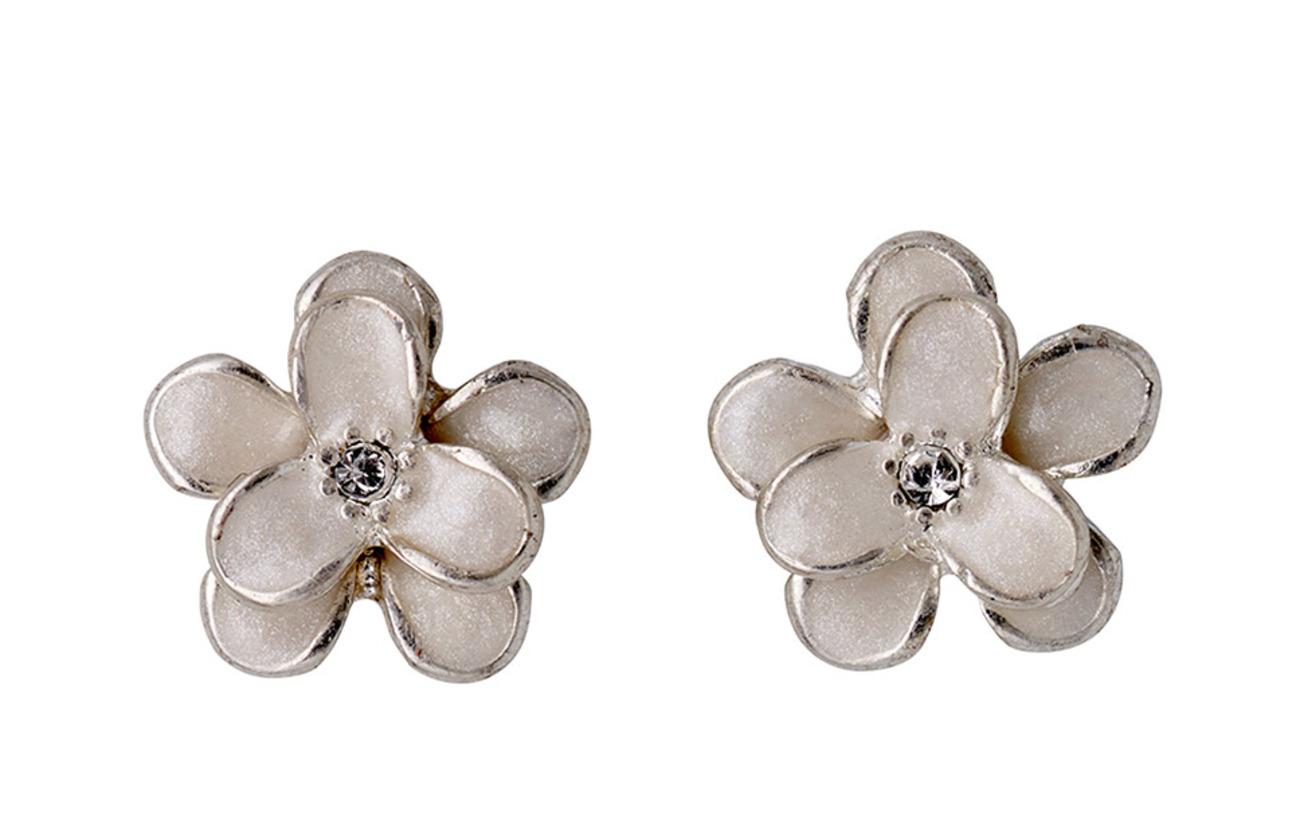 Pilgrim Earrings - SILVER/CRYSTAL