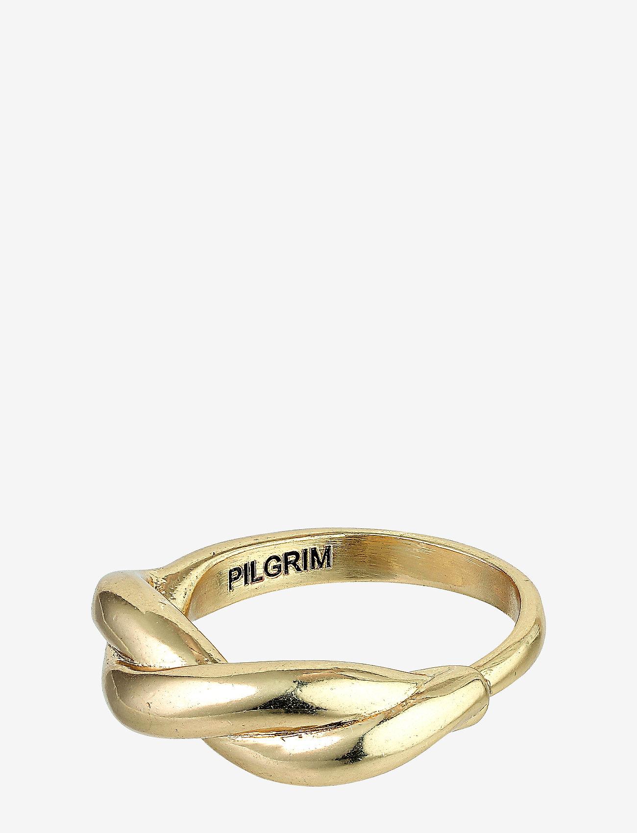 Pilgrim - Skuld - bagues - gold plated - 0