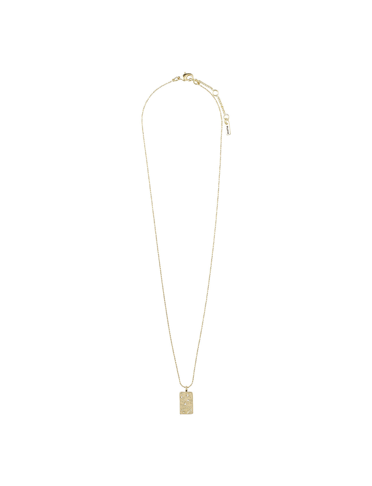 Necklace Gracefulness Crystal (Gold Plated) (34.95 €) - Pilgrim cFHs7