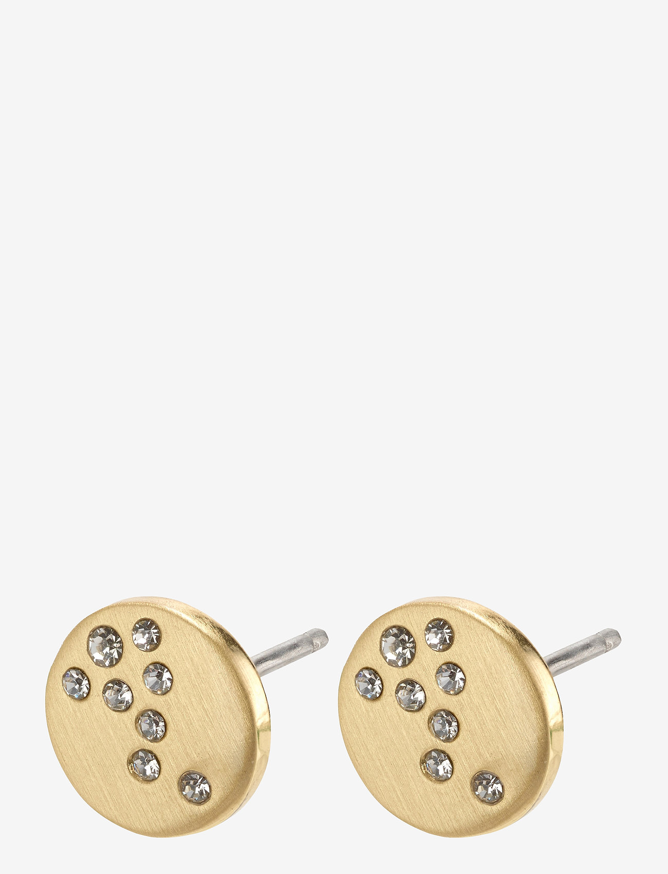 Pilgrim - Intuition - studs - gold plated - 1