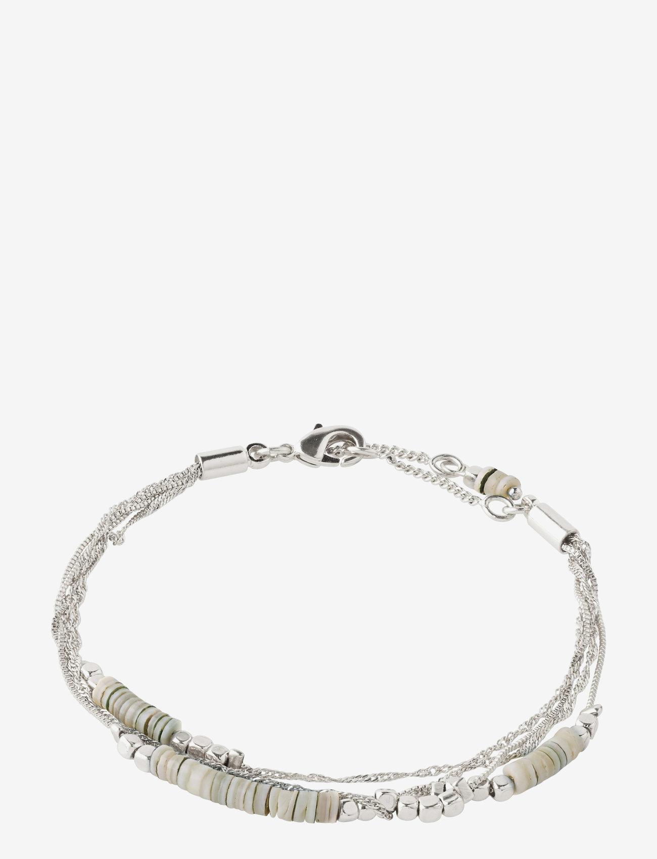 Pilgrim - Bracelet Sincerity Silver Plated - dainty - silver plated - 1