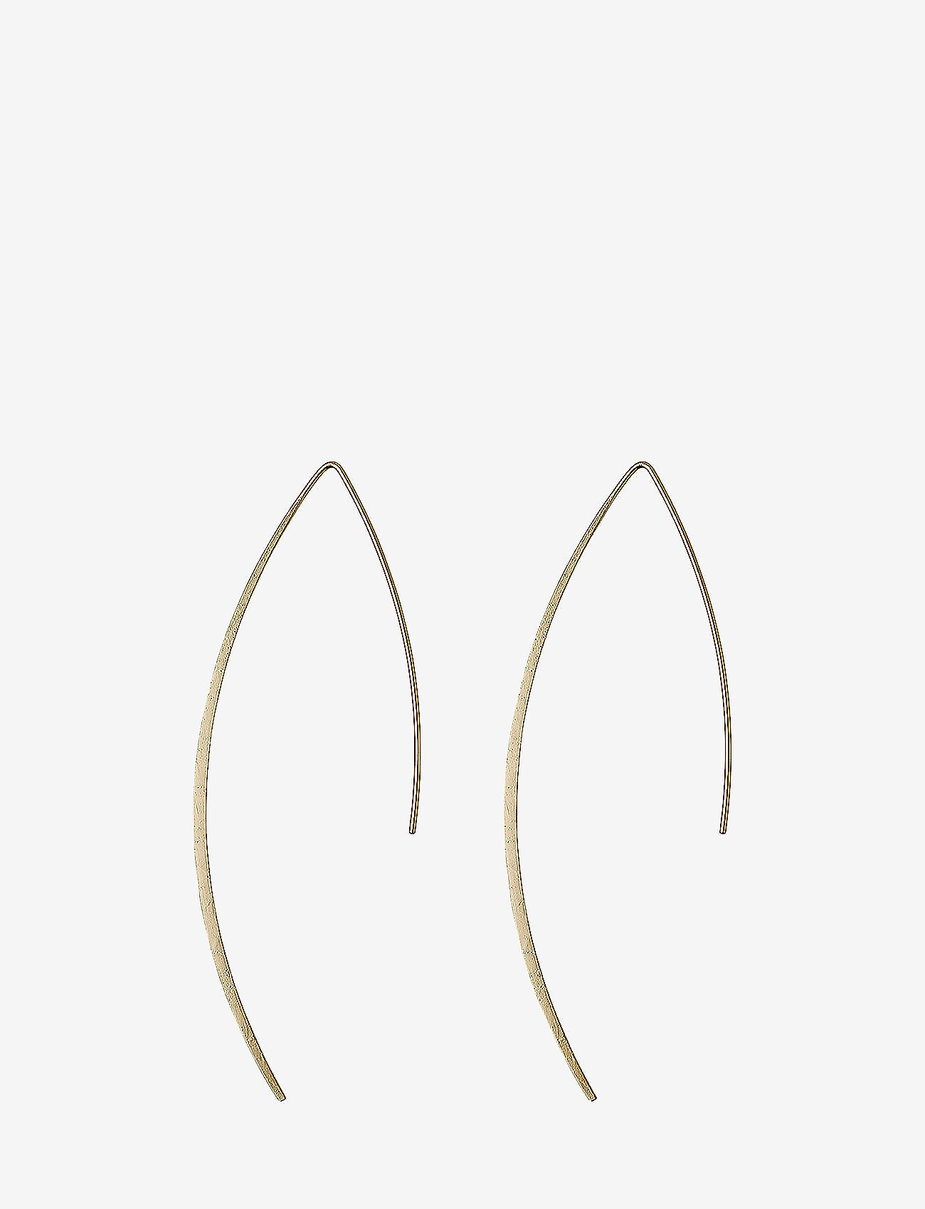 Pilgrim - Winter - statement earrings - gold plated - 1