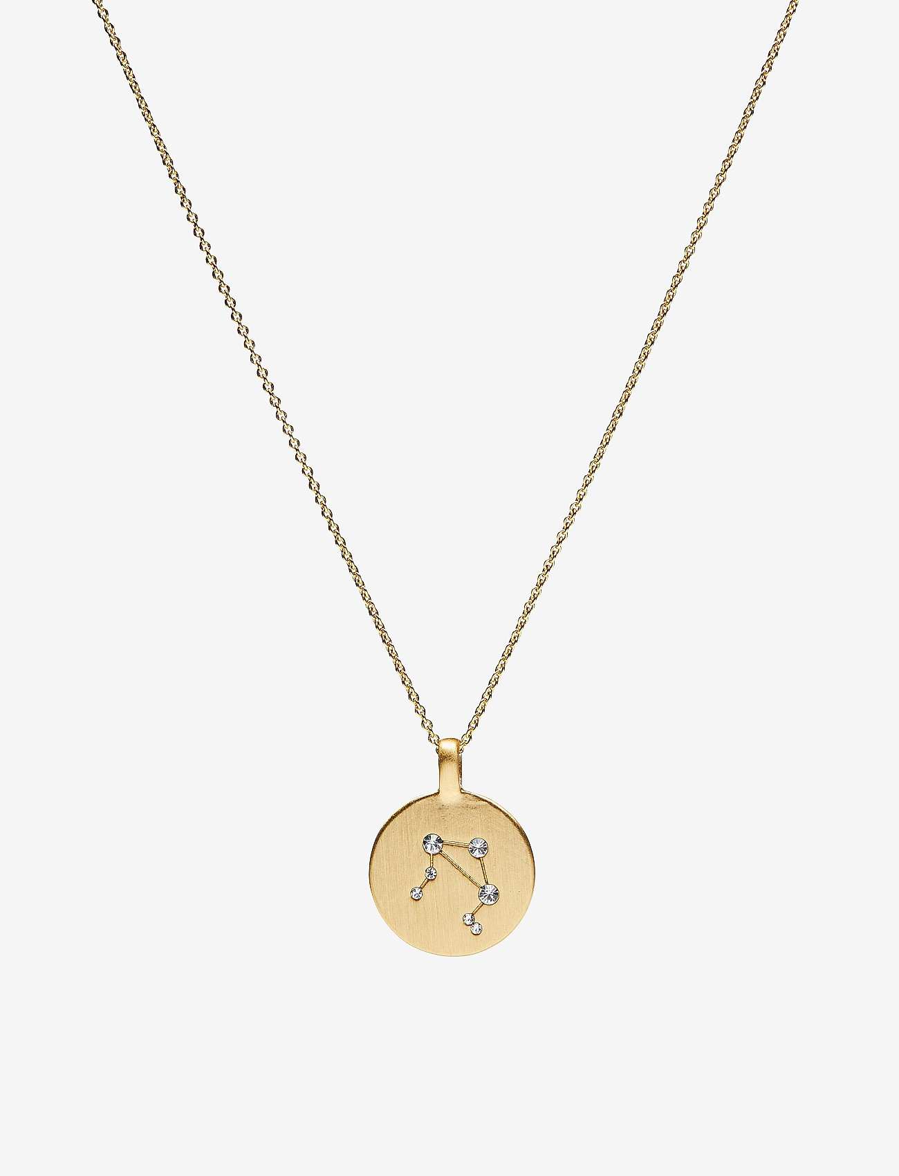 Pilgrim - Necklace - LIBRA - halsband med hänge - gold plated - 0
