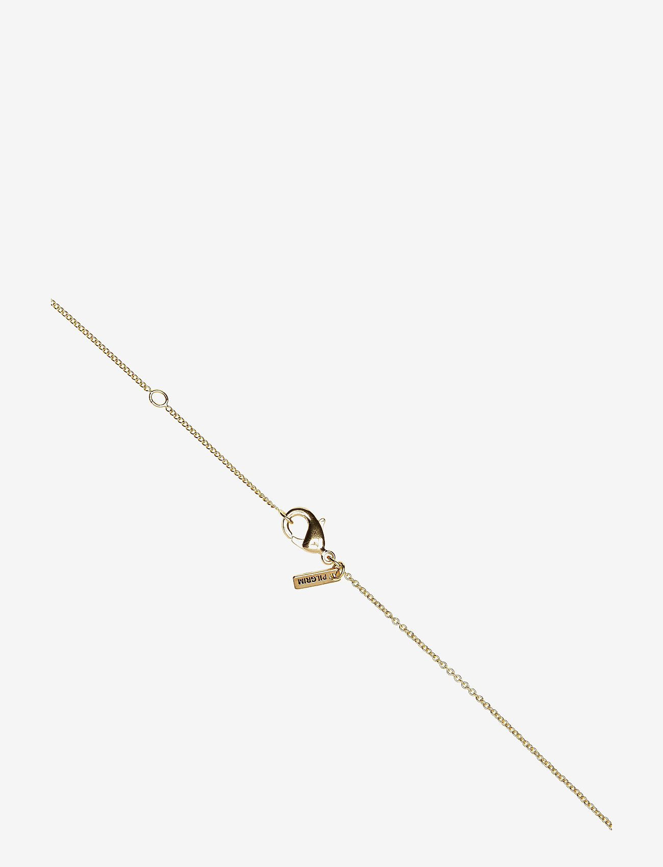 Pilgrim - Necklace - LIBRA - halsband med hänge - gold plated - 1