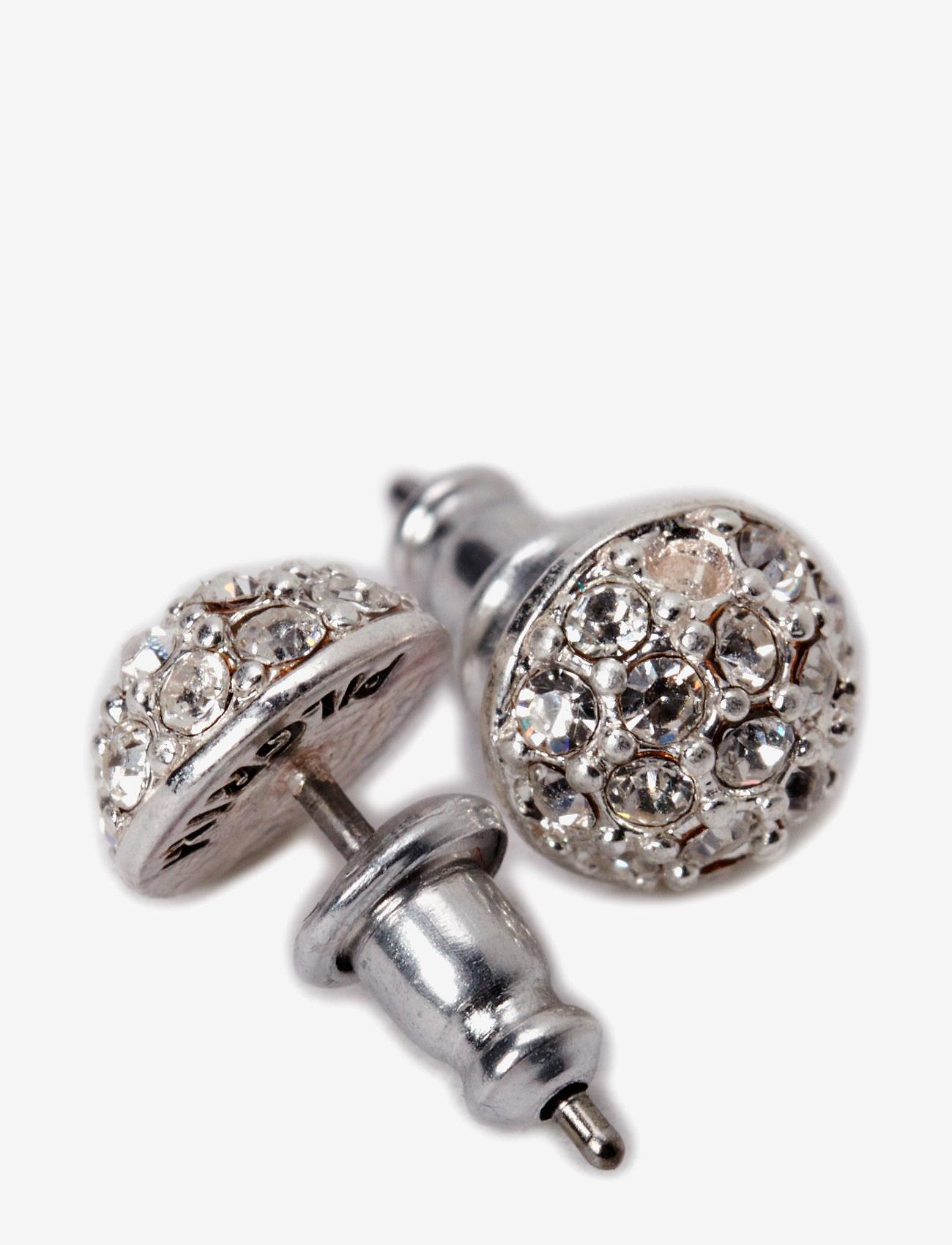 Pilgrim - Pilgrim Earring Classic - studs - crystal - 1