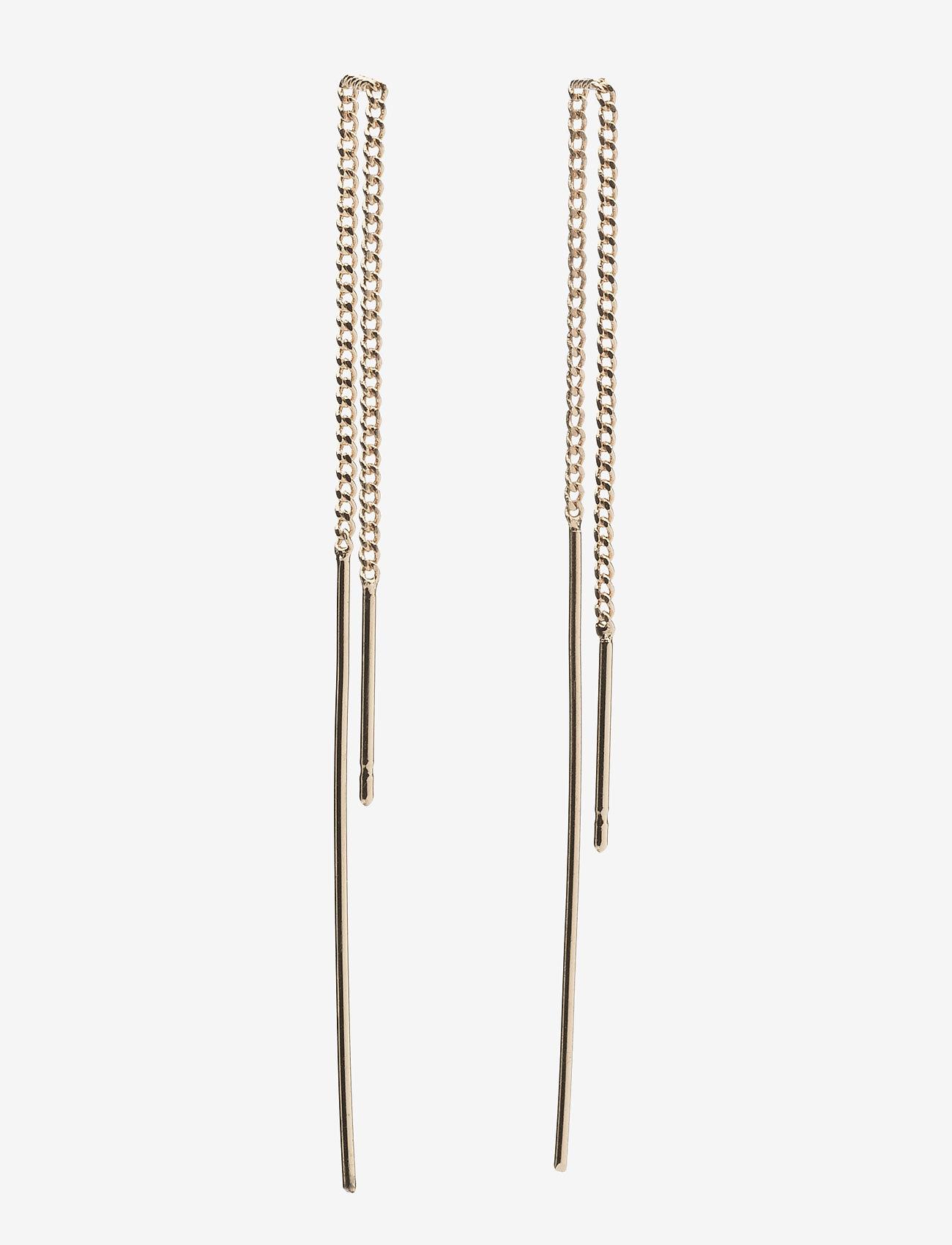 Pilgrim - Earrings - hängande örhängen - gold plated - 0