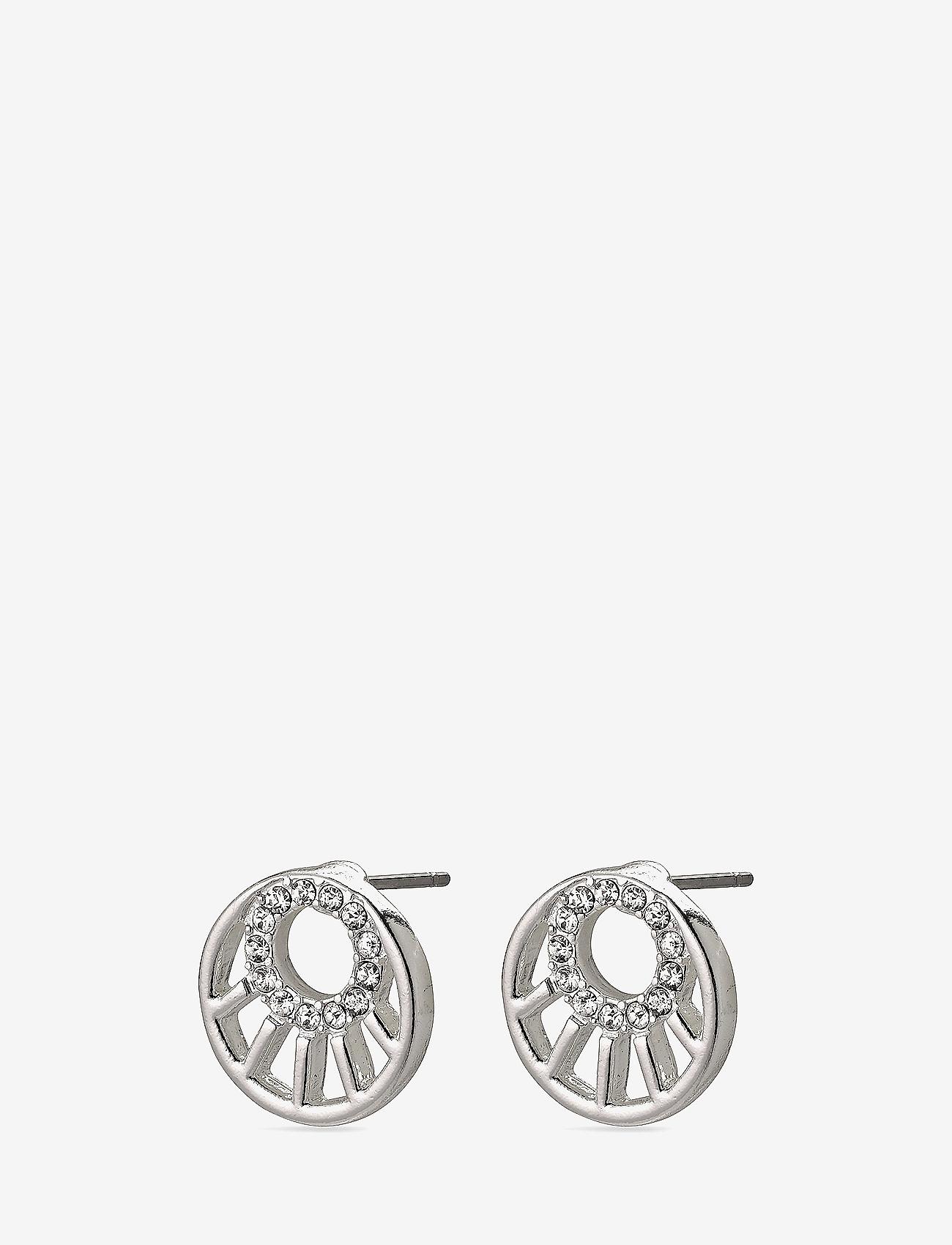 Pilgrim - Cassie - studs - silver plated