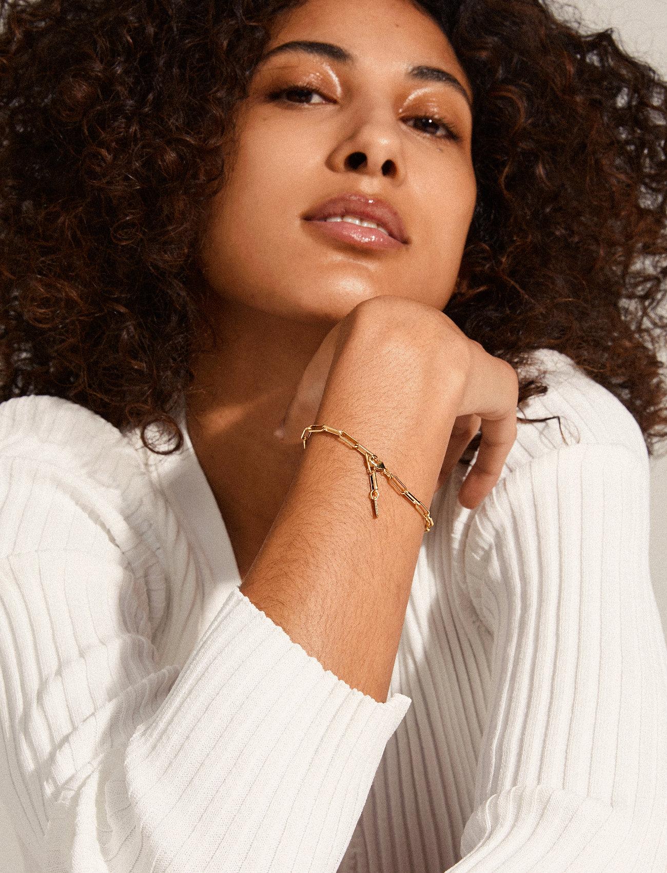 Pilgrim - Bracelet : Ronja : Gold Plated - dainty - gold plated - 1