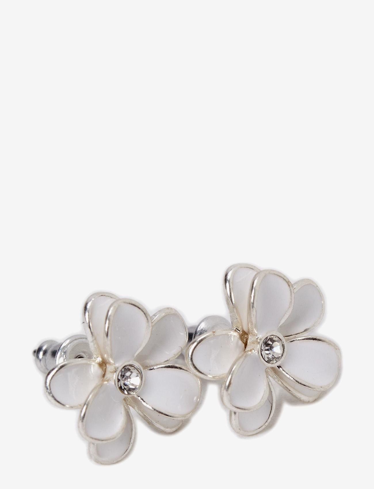 Pilgrim - Earrings - studs - white - 0