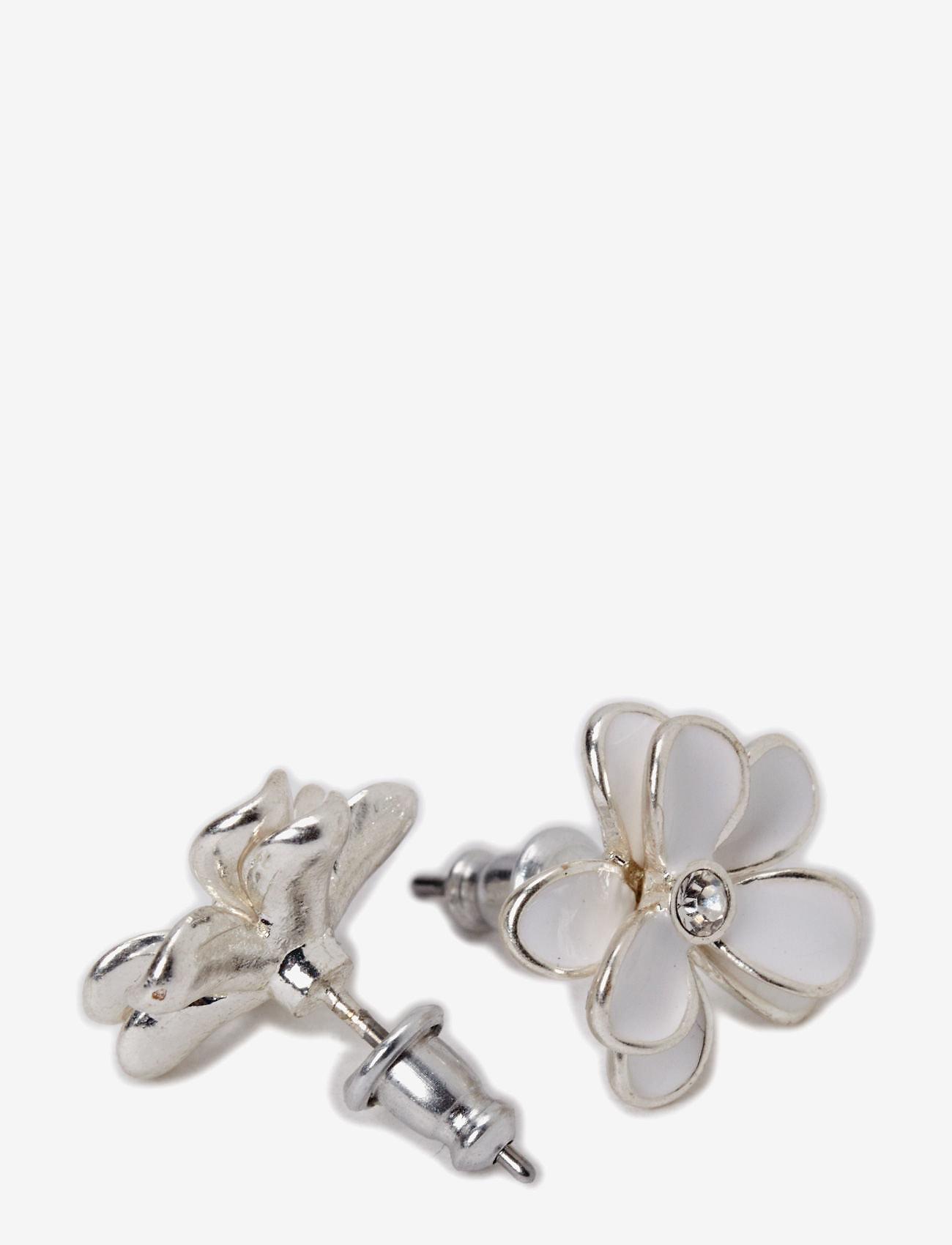 Pilgrim - Earrings - studs - white - 1