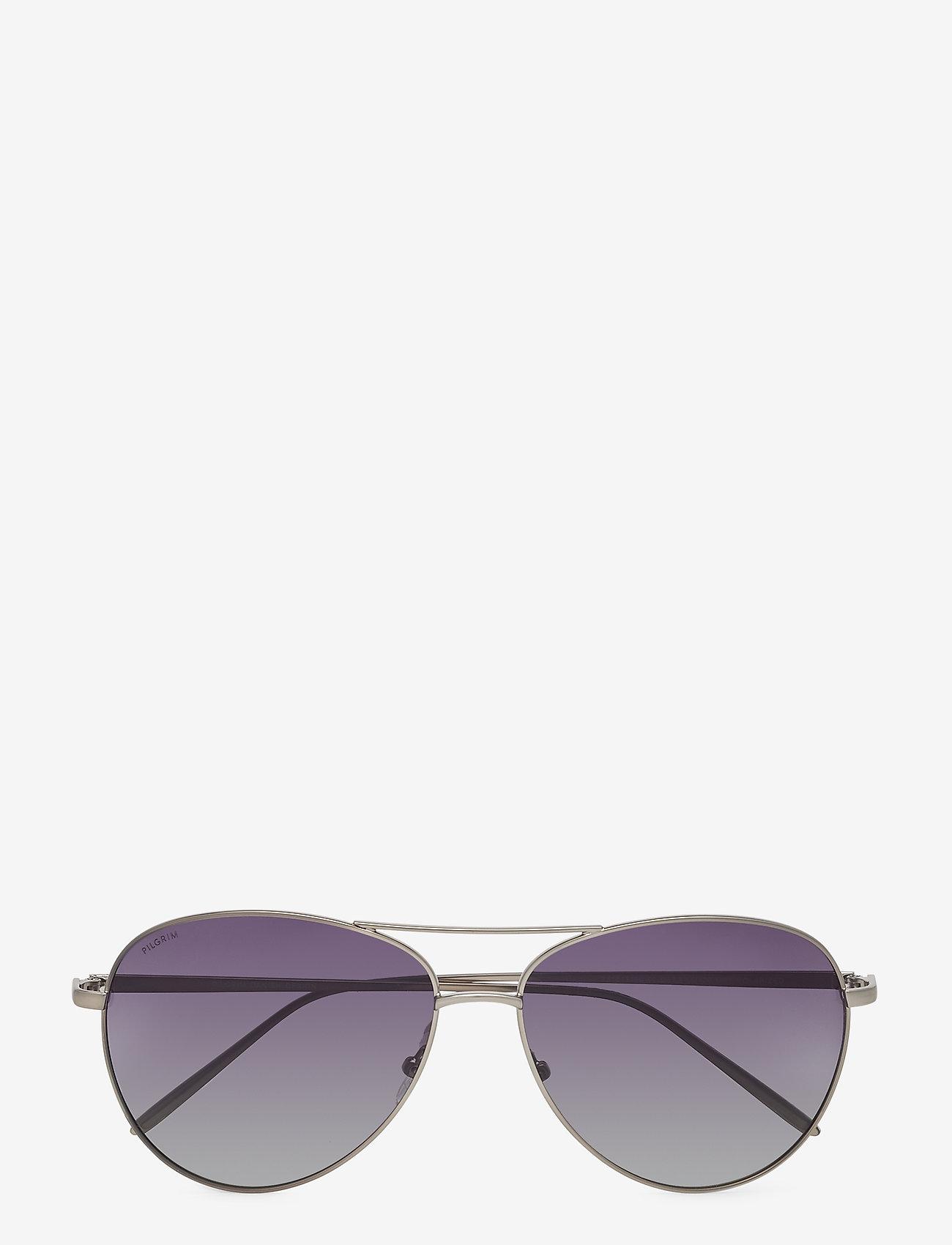 Pilgrim - Nani - okulary przeciwsłoneczne aviator - hematite - 1