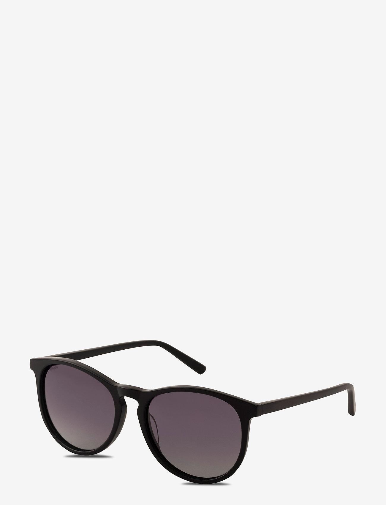 Pilgrim - Sunglasses Sahara - rond model - black - 0