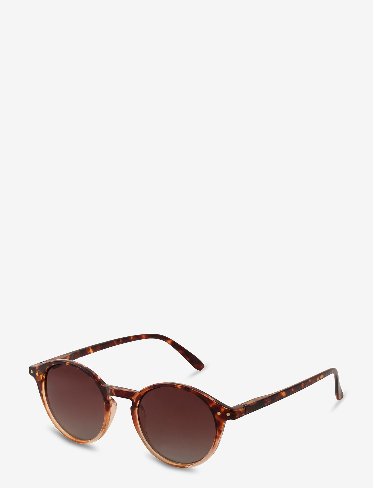 Pilgrim - Sunglasses Roxanne - rond model - brown - 0