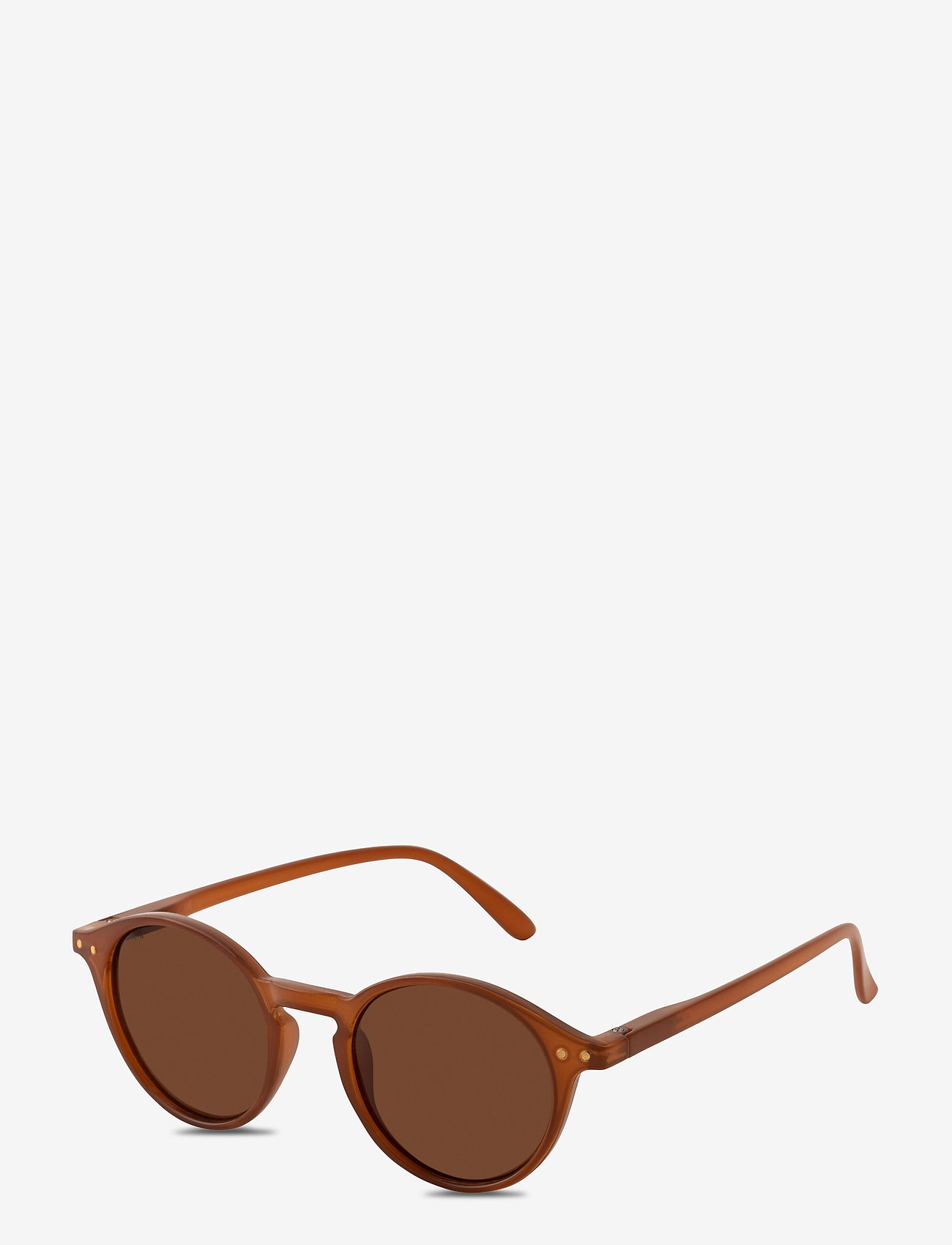 Pilgrim - Sunglasses Roxanne - rond model - brown - 0